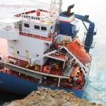 nave incagliata Sant antioco (capo sperone CDRY BLUE)